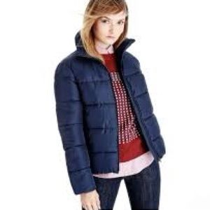 Navy Light Puffer Jacket
